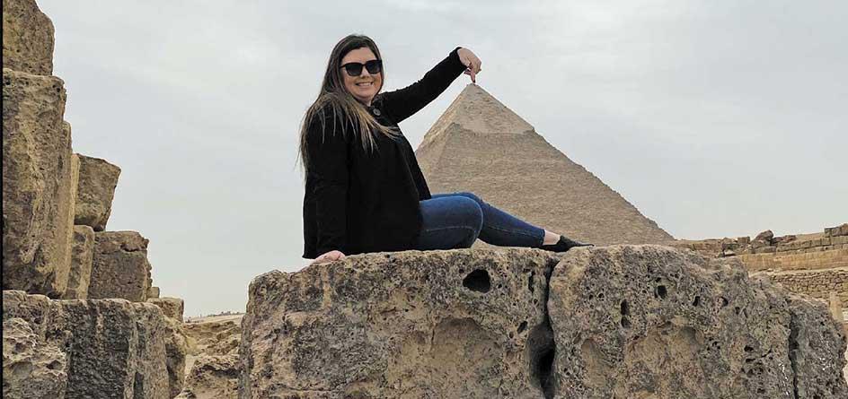 Egypt Lauren & Pyramids