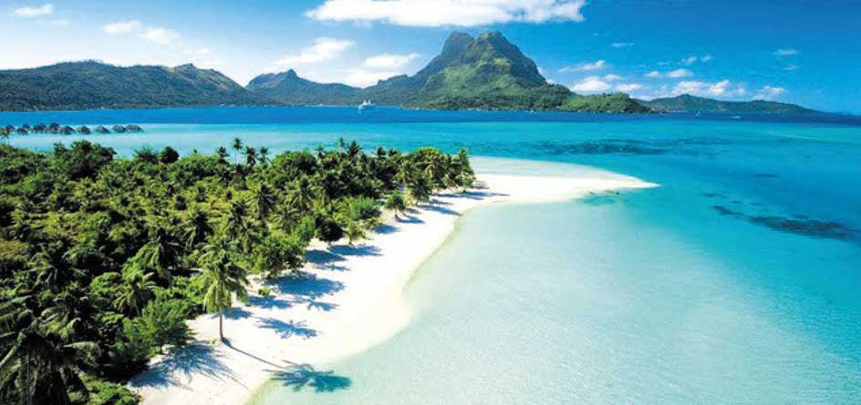 wonderful destinations - tropical beach